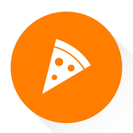 pizza slice sign