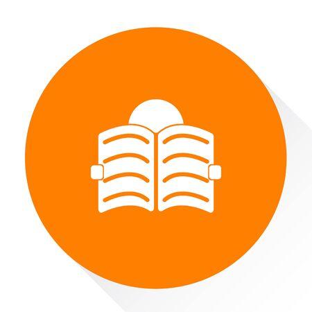 reading book icon Illustration