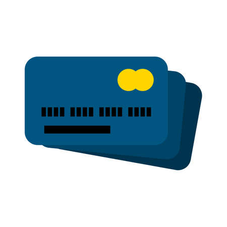 credit card icon. flat illustration of credit card vector icon. credit card sign symbol