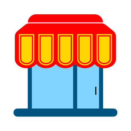 store icon - store isolated, shopping illustration- Vector shop