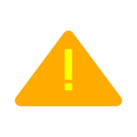 warning attention icon. flat illustration of warning attention vector icon. warning attention sign symbol 矢量图像