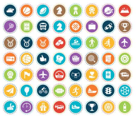 Sports icons 矢量图像