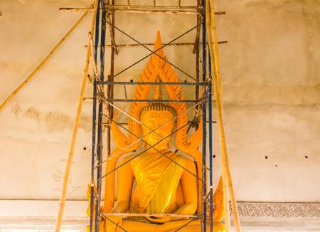Process buddha building photo