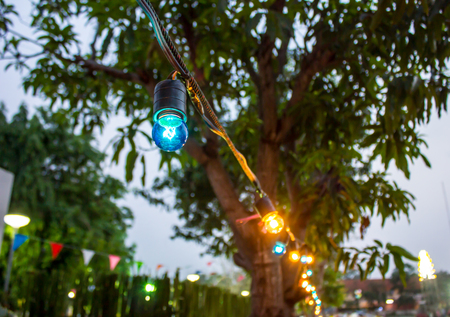 outdoor lighting: Outdoor lighting decor for party