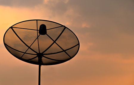 Satellite dishes  for communication network