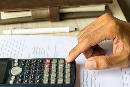calculate: calculate business by calculator