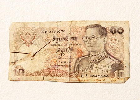 old thai money