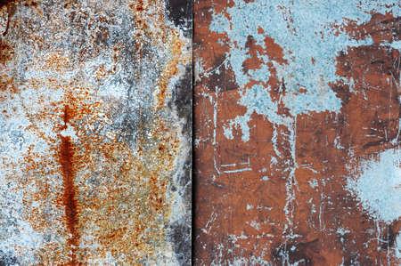 Rusty Zinc grunge background Stock Photo