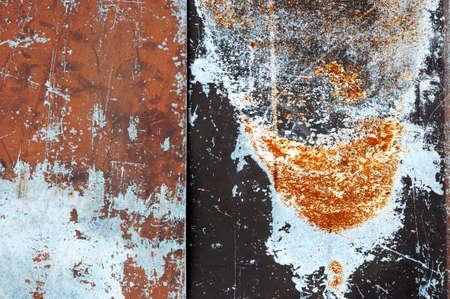 Rusty Zinc grunge background Stock Photo - 13572262