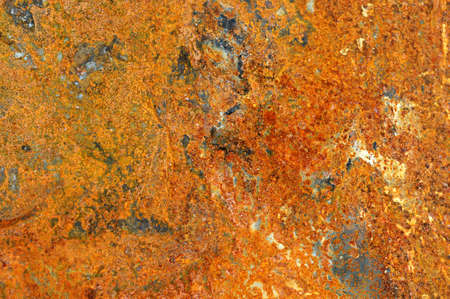 Rusty Zinc grunge background photo