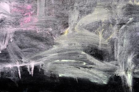 color on blackboard photo