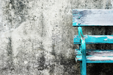 Grunge wall and old chair