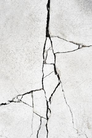 fissure: Grunge mur Banque d'images
