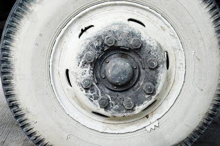 old wheel Stock Photo - 14642818