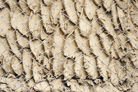 metal fence and wall Stock Photo - 15013421