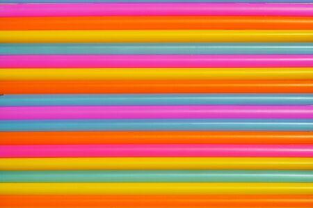 color plasic tube