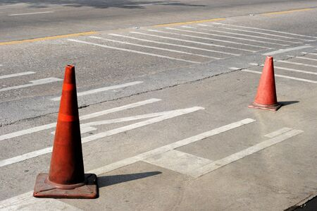 bypass: traffic cone
