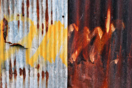 Rusty metal grunge background photo