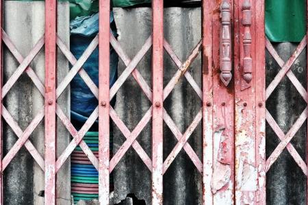old metal door photo