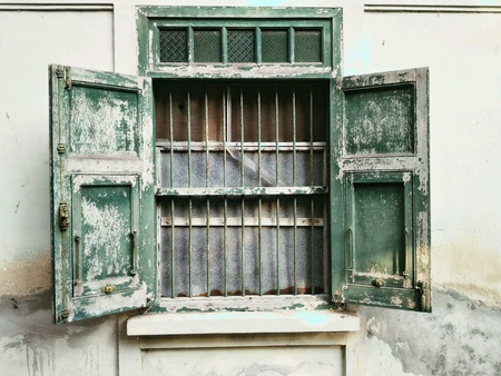 texture: Grunge window