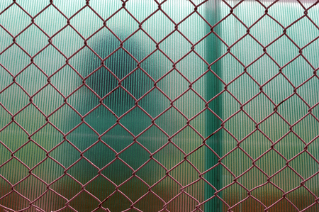 metal fence: metal fence
