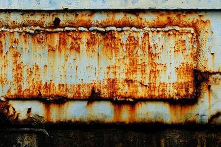 brushed: Rusty metal grunge background