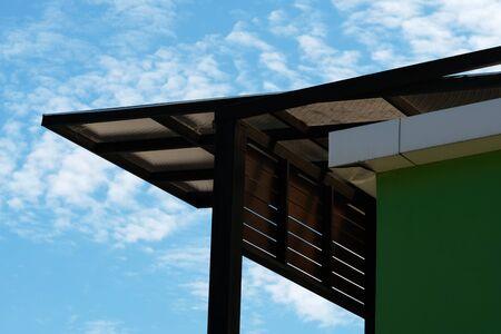 modern roof Standard-Bild