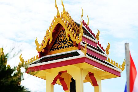 Thai pavilion Standard-Bild