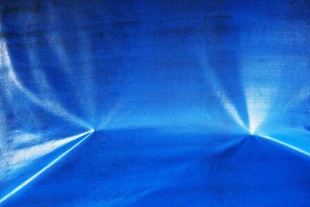 blue plastic pvc texture