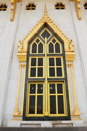 telegrama: Watt tailand�s en Tailandia ventana Foto de archivo