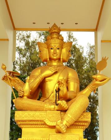 Brahma golden at front of Chonburi photo