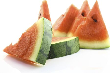 Watermelon, sweet summer in Thailand, fresh and yummy. photo