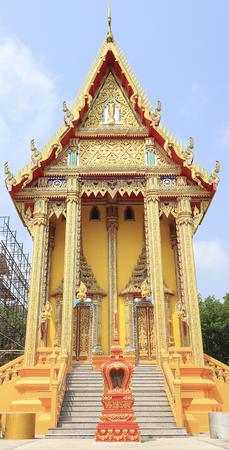 gold color: Art tepleb gold color building