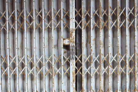 Steel shutter door photo