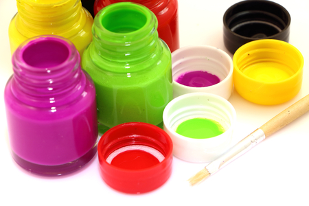 color paint: Water color paint art and colorful