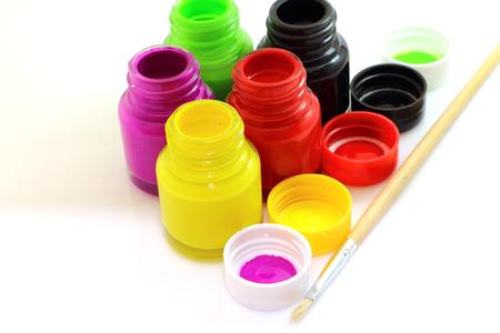 color paint: Acquerello arte pittura e colorato