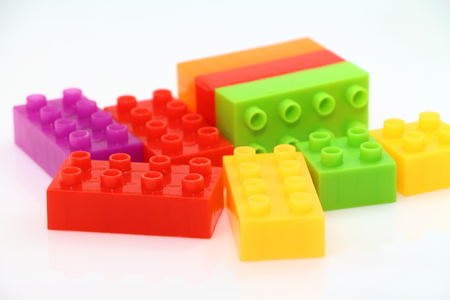 yellow lego block: Lego block ,toy and game for child education and play