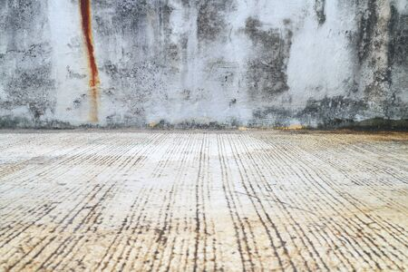 cement floor: Old concrete wall texture and background