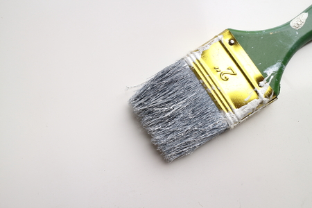 color paint: Paint brush and equipment for color paint