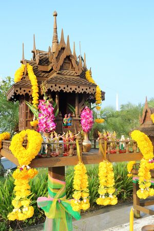 thai people: Joss house culture of Thai people or buddhism culture