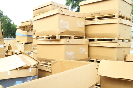 scrapyard: Industrial scrap box area
