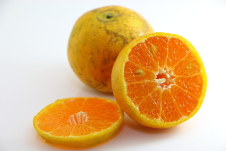 florida citrus: Honey tangerine orange sweet fruit from Thailand