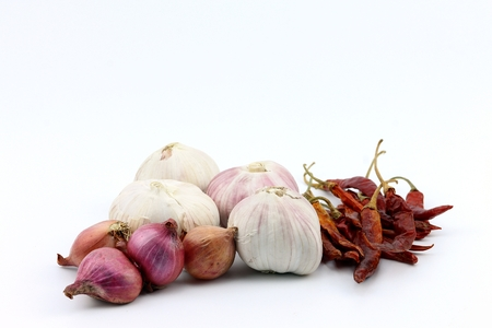 Chili garlic and onion spicy for Thai food