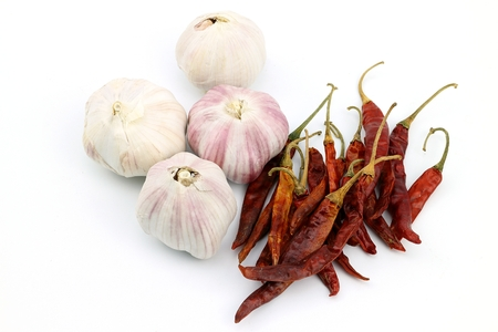 Chili Garlic And L & # 39;  Spicy onion for thai food stock photo, picture and royalty free image.  Image 101028704.