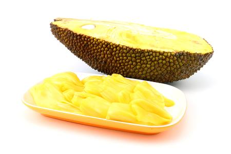 Thai Sweet  jackfruit on white background