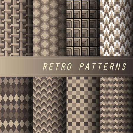 retro patterns: Retro patterns