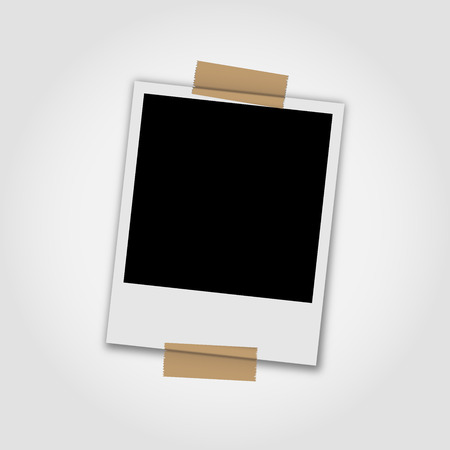 polaroid frame: Polaroid photo frame