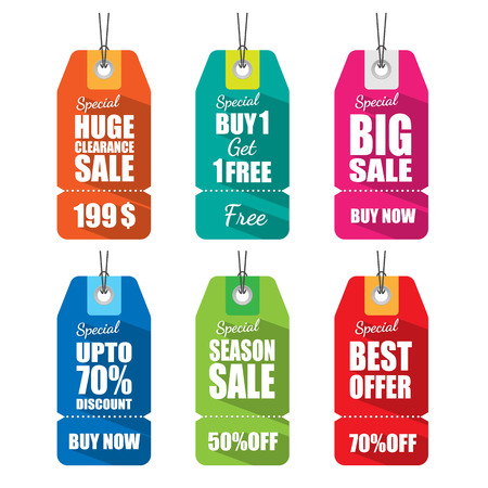 clearance sale: Set of tags for sale