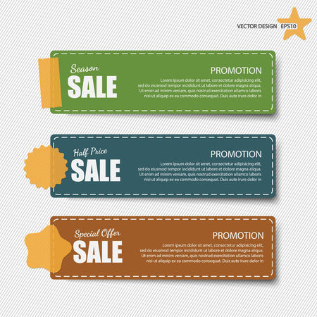 discount tag: Sale banners