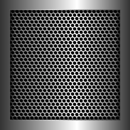 reticular: Cell metal background,vector
